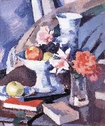 Samuel John Peploe Still Life Roses and Book china oil painting reproduction