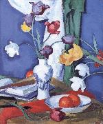 Samuel John Peploe Tulips and Fruit china oil painting reproduction