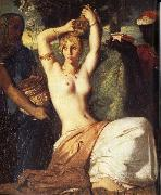 Theodore Chasseriau Esther Preparing to Appear before Ahasuerus china oil painting reproduction