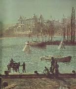 Atkinson Grimshaw Detail of Scarborough Bay china oil painting reproduction