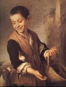 Bartolome Esteban Murillo Boy with a Dog china oil painting reproduction