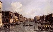 Canaletto Looking South-East from the Campo Santa Sophia to the Rialto Bridge china oil painting reproduction