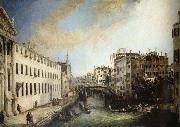 Canaletto Rio dei Mendicanti china oil painting reproduction