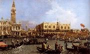 Canaletto named Canaletto Venetie, the Bacino Tue S. Marco on Hemelvaartsdag china oil painting reproduction