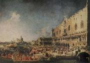 Canaletto The Arrival of the French Ambassador in Venice china oil painting reproduction