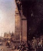 Canaletto Looking East from the South West Corner china oil painting reproduction