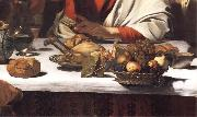 Caravaggio Detail of The Supper at Emmaus china oil painting reproduction