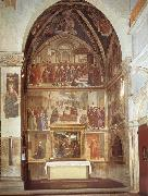 Domenico Ghirlandaio family chapel of the Sassetti china oil painting reproduction