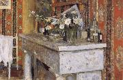 Edouard Vuillard The Mantelpiece china oil painting reproduction