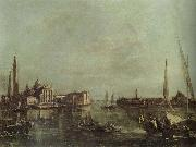 Francesco Guardi St.Mark-s Basin with San Giorgio Maggiore and the Giudecca china oil painting reproduction