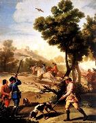 Francisco de goya y Lucientes The Quail Shoot china oil painting reproduction