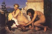 Jean Leon Gerome The Cock Fight china oil painting reproduction