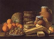 MELeNDEZ, Luis Still life with Oranges and Walnuts china oil painting reproduction