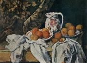Paul Cezanne Still life with curtain china oil painting reproduction