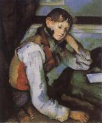 Paul Cezanne Boy in a Red Waistcoat china oil painting reproduction