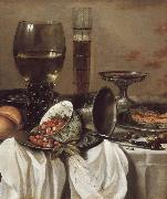 Pieter Claesz Still Life with Drinking Vessels china oil painting reproduction