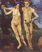Suzanne Valadon Adam and Eve china oil painting reproduction