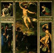 TIZIANO Vecellio Polyptych of the Resurrection china oil painting reproduction
