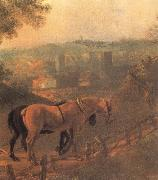 Thomas Gainsborough Detail of Landscape with a Woodcutter courting a Milkmaid china oil painting reproduction