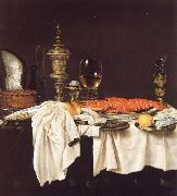 Willem Claesz Heda Still life with a Lobster china oil painting reproduction