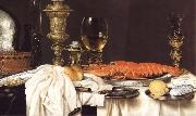 Willem Claesz Heda Detail of Still Life with a Lobster china oil painting reproduction