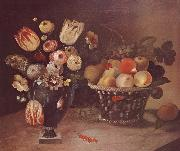 William Buelow Gould Flowers and Fruit china oil painting reproduction