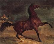 Alfred Dehodencq Horse in a landscape china oil painting reproduction