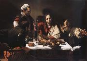 Caravaggio The meal in Emmaus china oil painting reproduction