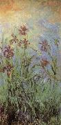 Claude Monet Lilac Irises china oil painting reproduction