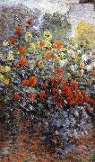 Claude Monet Detail from Monet-s Garden in Argenteuil china oil painting reproduction