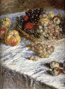 Claude Monet Pears and grapes china oil painting reproduction