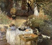 Claude Monet Luncheon china oil painting reproduction
