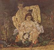 Egon Schiele The Family china oil painting reproduction
