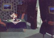 Felix Vallotton Waiting china oil painting reproduction