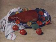 Felix Vallotton Still life with Ham and Tomatoes china oil painting reproduction