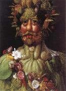 Giuseppe Arcimboldo Emperor Rudolf II as a Vertumnus china oil painting reproduction