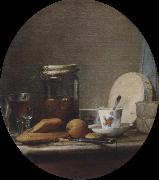 Jean Baptiste Simeon Chardin The pot with apricots china oil painting reproduction