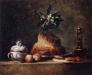 Jean Baptiste Simeon Chardin Style life with Brioche china oil painting reproduction