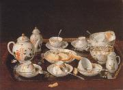 Jean-Etienne Liotard Tea service china oil painting reproduction