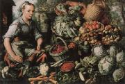 Joachim Beuckelaer Museum national market woman with fruits, Gemuse and Geflugel china oil painting reproduction