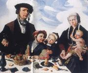 Maerten van heemskerck Art collections national the Haarlemer patrician Pieter Jan Foppeszoon with its family china oil painting reproduction