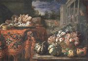 Pier Francesco Cittadini Style life with fruits and sugar work china oil painting reproduction