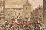 Thomas Pakenham Thomas Street,Dubli the Scene of Rober Emmet-s execution in 1803 china oil painting reproduction