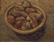 Vincent Van Gogh Style life with potatoes in a Schussel china oil painting reproduction