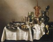 Willem Claesz Heda Style life with gilded cup china oil painting reproduction