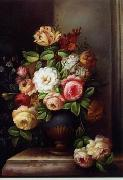 unknow artist Floral, beautiful classical still life of flowers.079 china oil painting reproduction