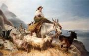 unknow artist Sheep 087 china oil painting reproduction