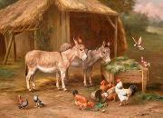 unknow artist Cocks and sheep128 china oil painting reproduction