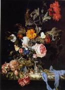unknow artist Floral, beautiful classical still life of flowers.045 china oil painting reproduction