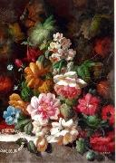 unknow artist Floral, beautiful classical still life of flowers.074 china oil painting reproduction